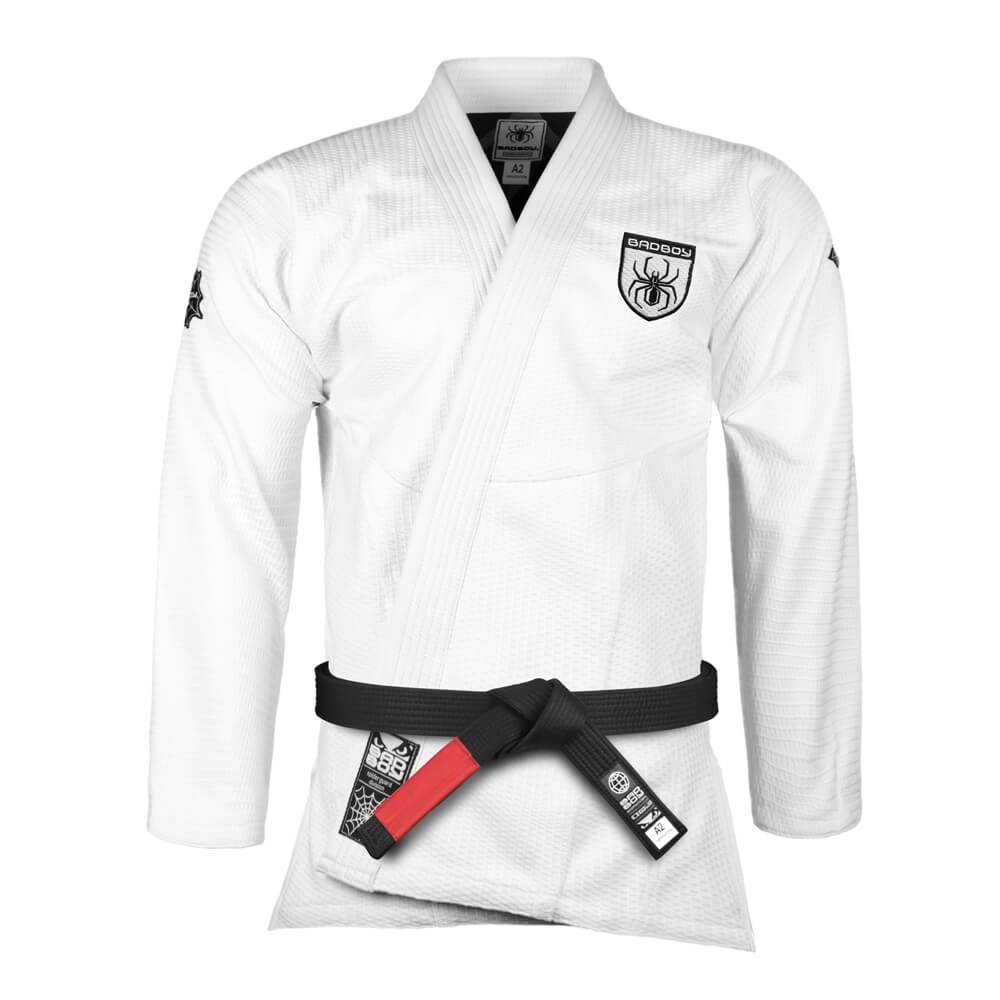 Кимоно Bad Boy Legacy Spider Guard BJJ Gi - White& фото 3