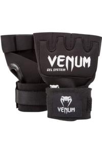 Бинты Venum Gel Kontact Glove Wraps - Black/White